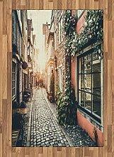 Abakuhaus Europa Teppich, Altstadt bei