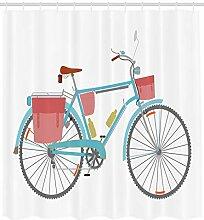 ABAKUHAUS Fahrrad Duschvorhang, Klassische Tour