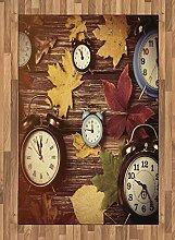 Abakuhaus Fallen Teppich, Uhren mit trockenen