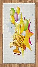 ABAKUHAUS Feier Teppich, Baby-Geburtstagsfeier,