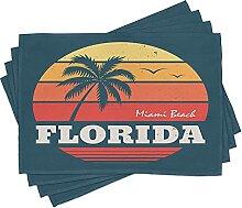 ABAKUHAUS Florida Platzmatten, Abstrakter