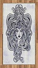 ABAKUHAUS Friseur Teppich, Art Nouveau Medusa