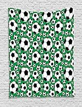 ABAKUHAUS Fußball Wandteppich, Sportmotiv,