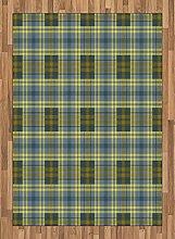 ABAKUHAUS Geometrisch Teppich, Englisch Folk