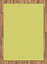 ABAKUHAUS Geometrisch Teppich, Rauten mit