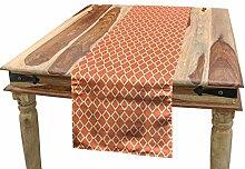 ABAKUHAUS Geometrisch Tischläufer, Karierte