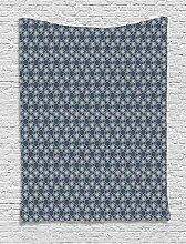 ABAKUHAUS Geometrisch Wandteppich, Ostjapanische