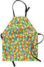 ABAKUHAUS Gitter Kochschürze, Mosaik-Fliese