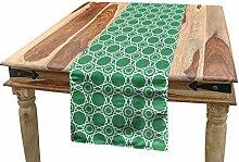 ABAKUHAUS Grün Tischläufer, Marokkanische