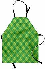 ABAKUHAUS irisch Kochschürze, Retro- Muster in