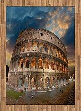 ABAKUHAUS Italienisch Teppich, Kolosseum bei