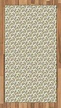 Abakuhaus Jahrgang Teppich, Romantischer