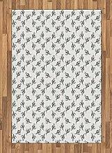 ABAKUHAUS Känguru Teppich, Skizzieren