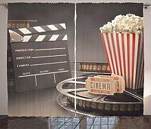 ABAKUHAUS Kino Rustikaler Vorhang, Film,