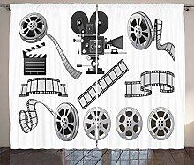 ABAKUHAUS Kino Rustikaler Vorhang,