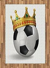 Abakuhaus König Teppich, Fußball Fußball mit