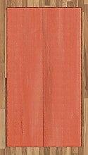 ABAKUHAUS Koralle Teppich, Vintage Holz Board