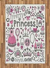 Abakuhaus Mädchen Teppich, Märchen Prinzessin