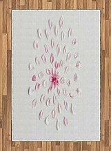ABAKUHAUS Mandelblüte Teppich, Sakura mit Petals,