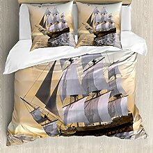 ABAKUHAUS maritim Bettwäsche Set für