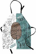 ABAKUHAUS Modern Kochschürze, Gehirn-Bild mit