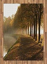 ABAKUHAUS Natur Teppich, Gehweg bei Canal Misty,