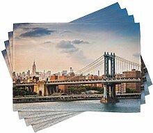 ABAKUHAUS New York Platzmatten, Manhattan Bridge