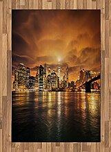ABAKUHAUS New York Teppich, Manhattan bei