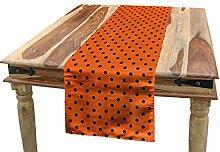 ABAKUHAUS Orange Tischläufer,