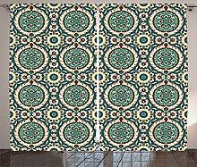 ABAKUHAUS orientalisch Rustikaler Vorhang, Retro