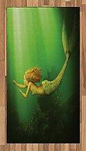 Abakuhaus Ozean Teppich, Meerjungfrau mit