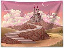ABAKUHAUS Prinzessin Wandteppich und Tagesdecke,