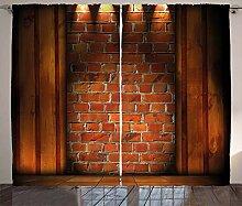 ABAKUHAUS rustikal Wand Rustikaler Vorhang,