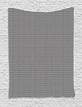 ABAKUHAUS Schwarz und weiß Wandteppich, Rechtecke