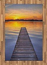 ABAKUHAUS See Teppich, Sonnenuntergang bei