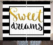 ABAKUHAUS Süße Träume Rustikaler Vorhang,