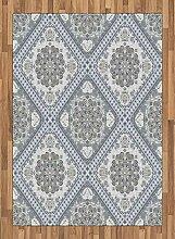 ABAKUHAUS Türkisch-Muster Teppich, Persischer