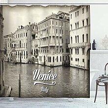 ABAKUHAUS Venedig Duschvorhang, Altes