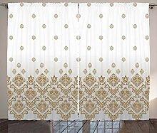ABAKUHAUS viktorianisch Rustikaler Vorhang,
