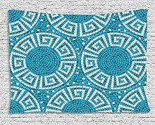 ABAKUHAUS Wasser Wandteppich, Griechische
