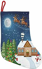 ABAKUHAUS Weihnachten Hängende Nikolausstiefel