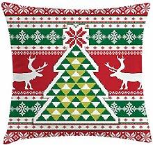 ABAKUHAUS Weihnachten Kissenbezug, Skandinavische