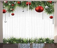 ABAKUHAUS Weihnachten Rustikaler Gardine, Baum