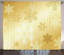 ABAKUHAUS Weihnachten Rustikaler Vorhang,