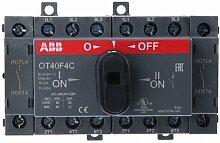 abb-entrelec ot40F4C–Schalter Switch ot40F4Kontakte Montage auf Profil DIN