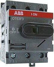 abb-entrelec OT63F3secciónador/secciónable-Schalter 3-polig 63A 63/47A/A