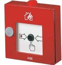 ABB Stotz S & J–Call manuell Alu rot HFM D