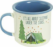 Abbey Geschenk schläft unter den Sternen Camping