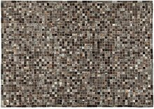 ABC 9010745Teppich, Leder, Dunkelgrau, 200x 140x 0.8cm