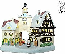 abc HOME living ❄ Weihnachtsdeko Winterdorf mit